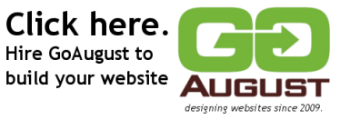 Click here, hire GoAugust to build your WordPress website